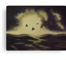 Murder on the Moor Canvas Print