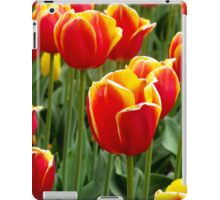 Red Yellow Tulips iPad cover iPad Case/Skin