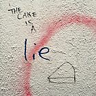 The cake is a lie by Roxy J