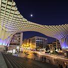 Seville at Night by Luka Skracic