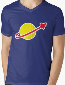 Space Mens V-Neck T-Shirt