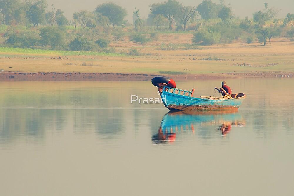 Fisherman's dawn by Prasad
