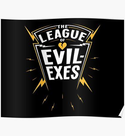 Scott Pilgrim - The League of Evil-Exes Poster
