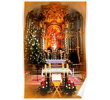 Pilgrimage church of the Assumption ~ The Altar Poster
