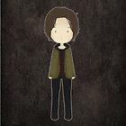 Supernatural cute SAM WINCHESTER by koroa