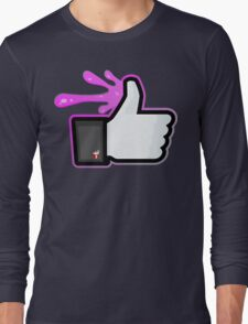 FACEBOOK X GHOSTBUSTERS (GB2 SLIMED) Long Sleeve T-Shirt