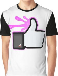 FACEBOOK X GHOSTBUSTERS (GB2 SLIMED) Graphic T-Shirt