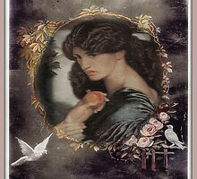 Pre Raphaelite Ipad Case by Irene  Burdell