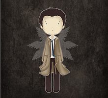 Supernatural cute CASTIEL by koroa