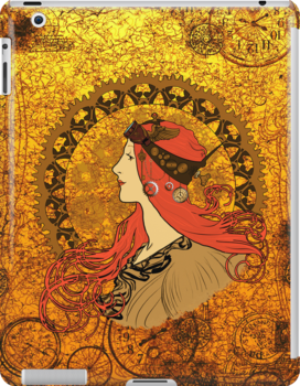 Steampunk Zodiac (Mucha Homage) by Nana Leonti