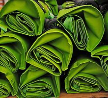 Green Bags by richard  webb