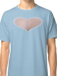 Pinky Heart with Polka Dots Classic T-Shirt