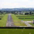 Welshpool Airport Final Approach by John Maxwell