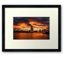 Sunrise - St. Thomas, USA Framed Print