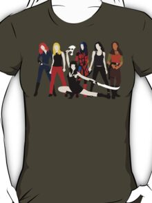 Women of the Whedonverse   T-Shirt