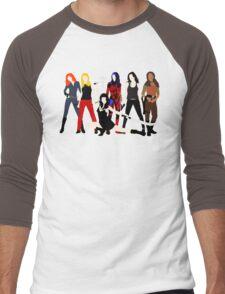 Women of the Whedonverse   Men's Baseball ¾ T-Shirt