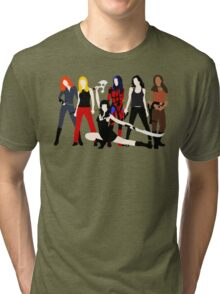 Women of the Whedonverse   Tri-blend T-Shirt