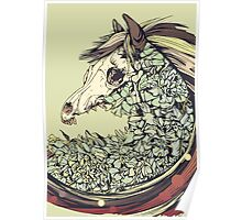 Beautiful Horse Old Poster