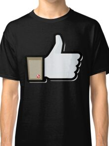 FACEBOOK X GHOSTBUSTERS (GB1) Classic T-Shirt