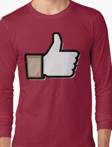 FACEBOOK X GHOSTBUSTERS (GB1) Long Sleeve T-Shirt