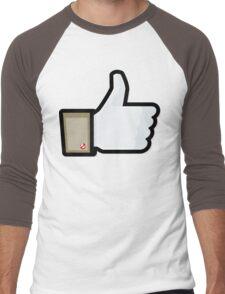 FACEBOOK X GHOSTBUSTERS (GB1) Men's Baseball ¾ T-Shirt