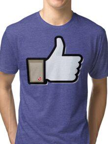 FACEBOOK X GHOSTBUSTERS (GB1) Tri-blend T-Shirt