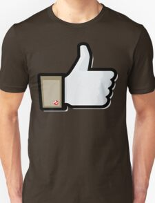 FACEBOOK X GHOSTBUSTERS (GB1) Unisex T-Shirt