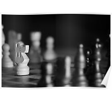 Chess Game - Your Move Poster