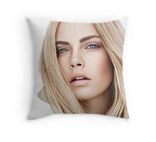 Cara Delevingne 3 Throw Pillow