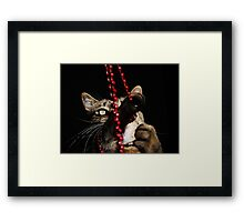 Beads.... Glorious Beads!!! Framed Print