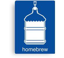 Craft Beer Homebrewing Icon Canvas Print