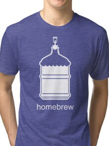 Craft Beer Homebrewing Icon Tri-blend T-Shirt