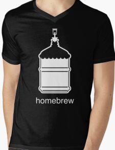 Craft Beer Homebrewing Icon Mens V-Neck T-Shirt