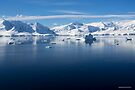 Reflecting on Antarctica 061 by Karl David Hill