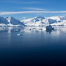 Reflecting on Antarctica 061 by Karl David Hill