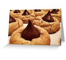 Peanut Butter Blossom Greeting Card