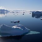 Reflecting on Antarctica 064 by Karl David Hill