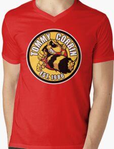 TOMMY CORBIN EST. 1986 Mens V-Neck T-Shirt