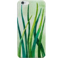 Watercolor Grass iPhone Case/Skin