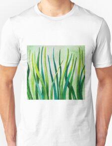 Watercolor Grass Unisex T-Shirt