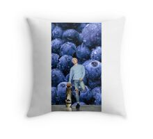 Taeyang_ Blueberry .1 Throw Pillow