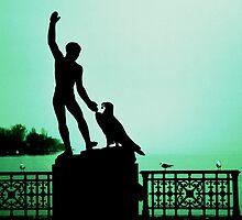 Ganymed statue at Zurich by Ikramul Fasih