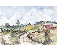 A farmouse in Magaliesburg Photographic Print