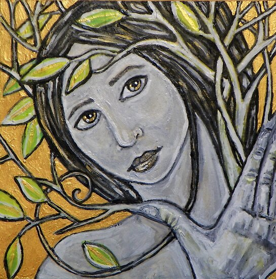 Tree Nymph by Lynnette Shelley
