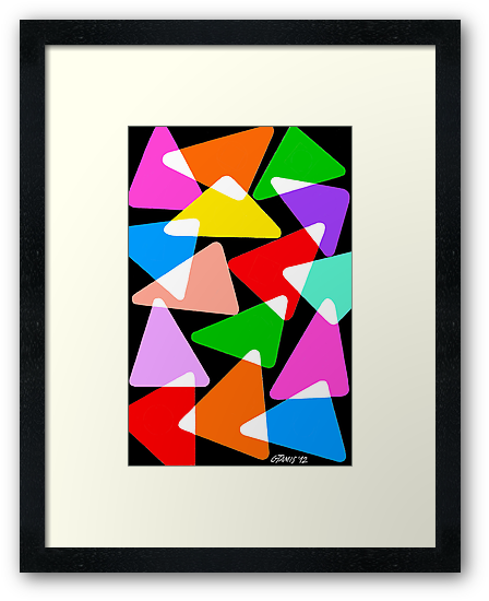 15 COLORFUL TRIANGLES UPDATE by RainbowArt
