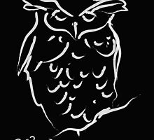 Sleepy owl by Go van Kampen