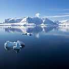 Reflecting on Antarctica 066 by Karl David Hill