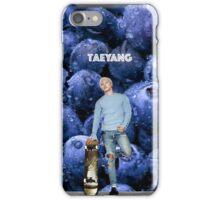Taeyang_ Blueberry .2 iPhone Case/Skin