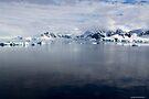 Reflecting on Antarctica 068 by Karl David Hill