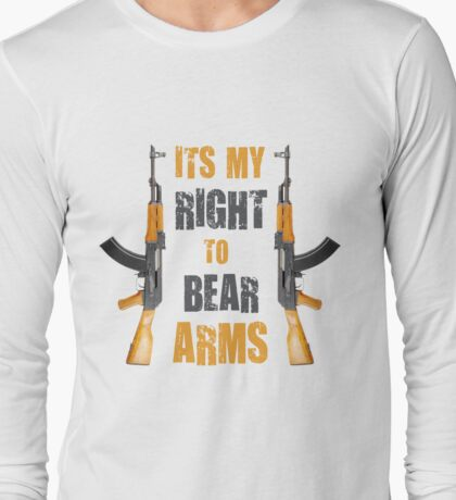 right to bear arms Long Sleeve T-Shirt